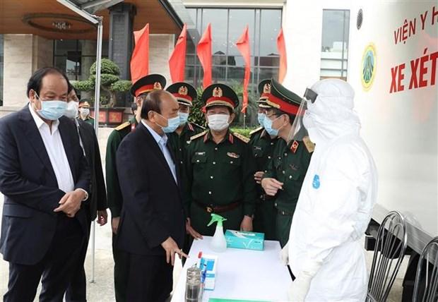 阮春福总理:每一个人均为新冠肺炎疫情阻击战的战士 hinh anh 2