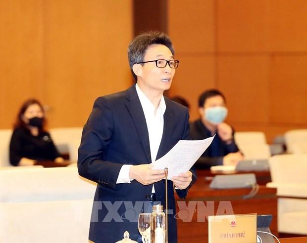 越南国会常务委员会第43次会议开幕 听取有关疫情防控工作报告 hinh anh 2