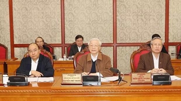 越共中央政治局有关Covid-19疫情防控工作的结论 hinh anh 1