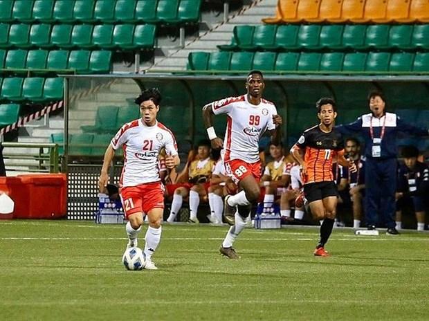 亚洲俱乐部最新排名:越南胡志明足球俱乐部进前100名 hinh anh 1
