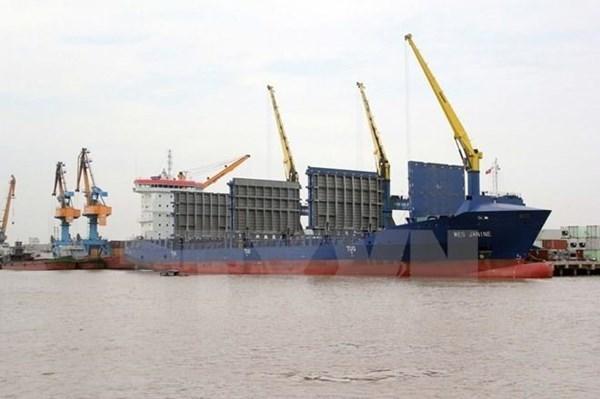 近7万亿越盾用于投资建设海防市沥县港第三和第四号集装箱码头 hinh anh 1