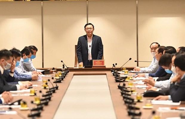 河内市委书记王廷惠:企业需采取措施确保劳动者和客户的安全 hinh anh 1