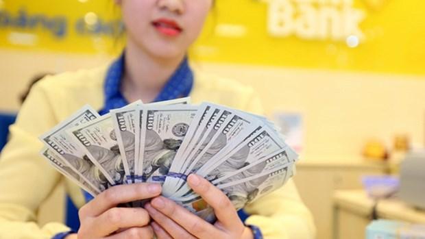 3月24日越盾对美元汇率中间价连续第八次上调 hinh anh 1