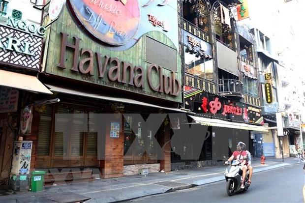 新冠肺炎疫情:胡志明市要求娱乐场所、饭馆、啤酒俱乐部、美容店暂时关闭 hinh anh 1