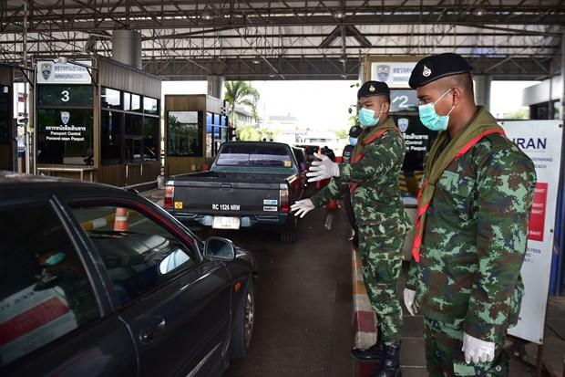 新冠肺炎疫情:泰国关闭与缅甸和马来西亚接壤的最南端省份各边境口岸 hinh anh 1