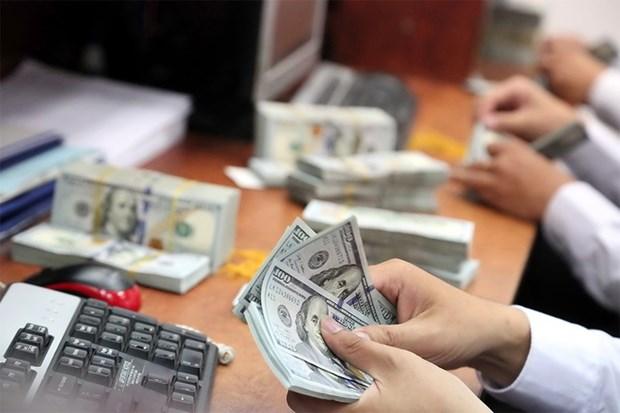 3月25日越盾对美元汇率中间价下降10越盾 hinh anh 1