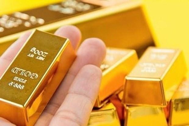 越南国内黄金价格接近4800万越盾 hinh anh 1