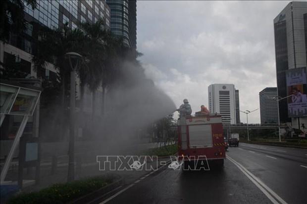 新冠肺炎疫情:印尼建立更多野战医院 新加坡禁止10人以上聚会 hinh anh 1