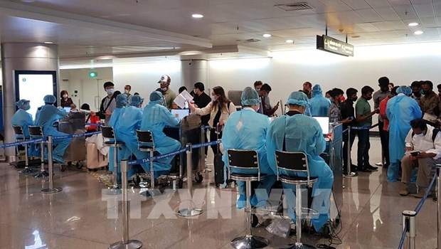 河内市对入境人员进行清查 遏制新冠肺炎扩散蔓延 hinh anh 1
