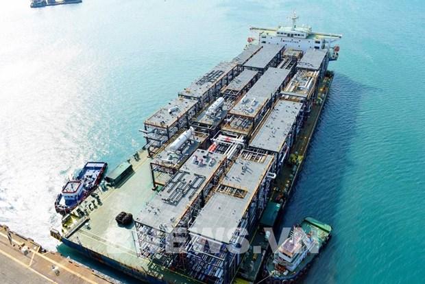 越南斗山重工业有限公司出色完成韩国三星工程建设公司生产的27个组件模块订单 hinh anh 1