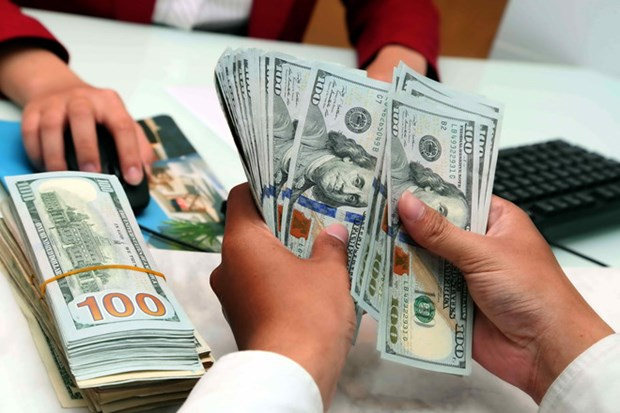 3月26日越盾对美元汇率中间价下降5越盾 hinh anh 1