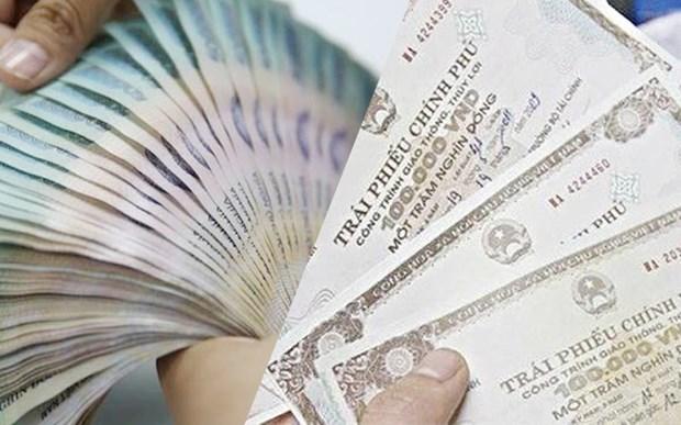 越南政府债券招标发行:筹集资金3010亿越盾 hinh anh 1