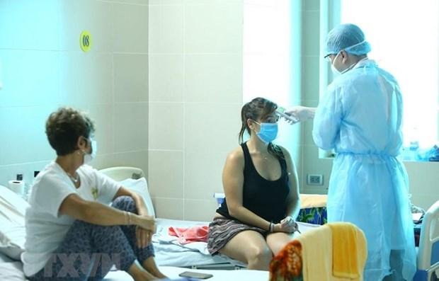 越南新增10例新冠肺炎疫情确诊病例,累计病例共163例 hinh anh 1