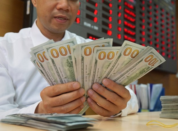 3月27日越盾对美元汇率中间价下降10越盾 hinh anh 1
