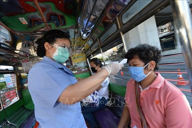新冠肺炎疫情:泰国要求人民居家7天 hinh anh 1