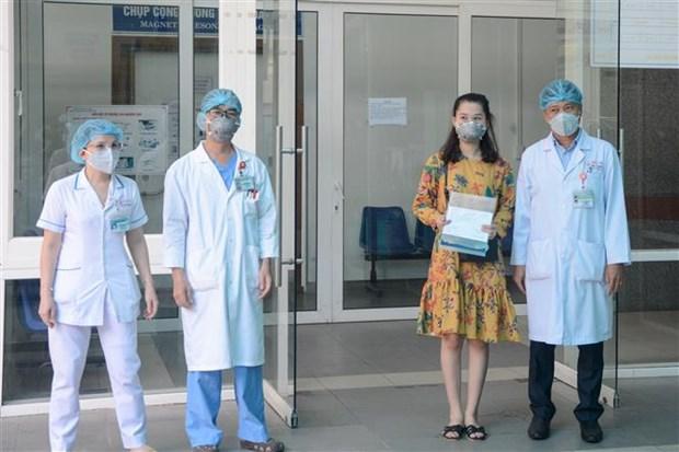 岘港市:三名新冠肺炎患者出院,继续隔离观察 hinh anh 1