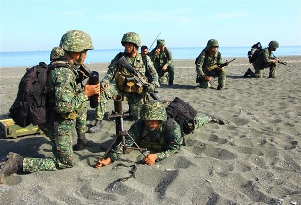 美国取消了与菲律宾的年度军演 hinh anh 1