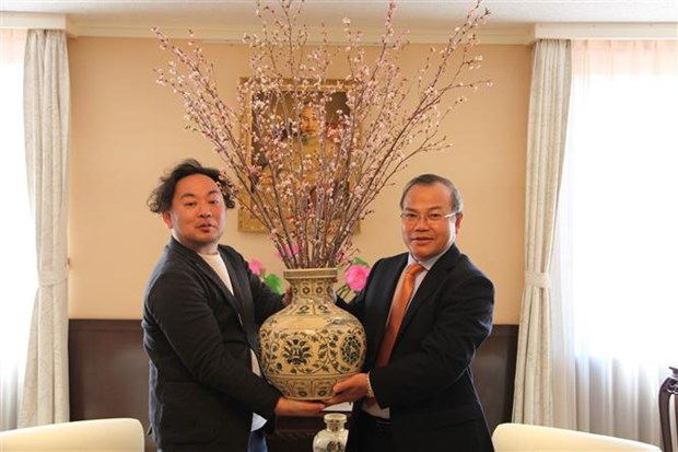 日本福岛县感谢越南为灾后重建提供支持 hinh anh 1