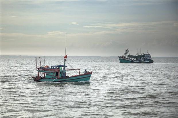 平定省重罚侵犯外国水域的渔船 hinh anh 1