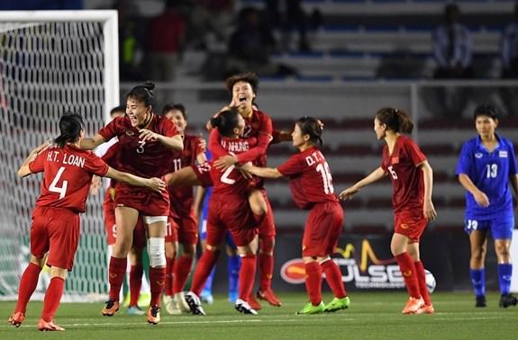 FIFA最新排名:越南女足仍保持东南亚首位、亚洲第6位和世界第35位 hinh anh 1