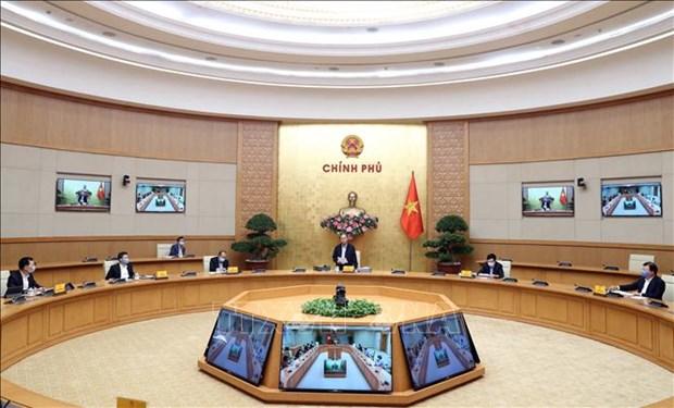 越南政府总理同意公布新冠肺炎疫情成为全国性疫情 hinh anh 1