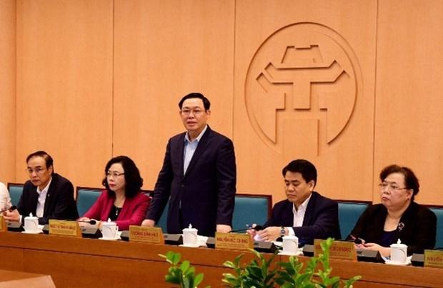 新冠肺炎疫情:河内市委将为白梅医院抗击新冠肺炎疫情工作提供最大限度的援助 hinh anh 1