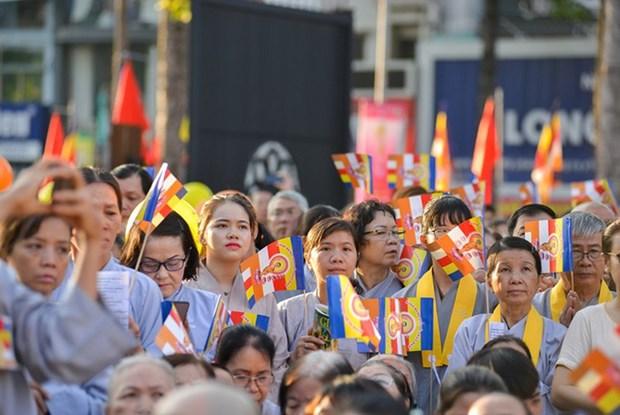 新冠肺炎疫情:越南佛教协会要求僧尼在寺庙内禁足至4月15日为止 hinh anh 1