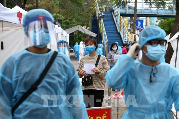 外国媒体高度评价越南新冠肺炎疫情防控工作取得的积极成效 hinh anh 1