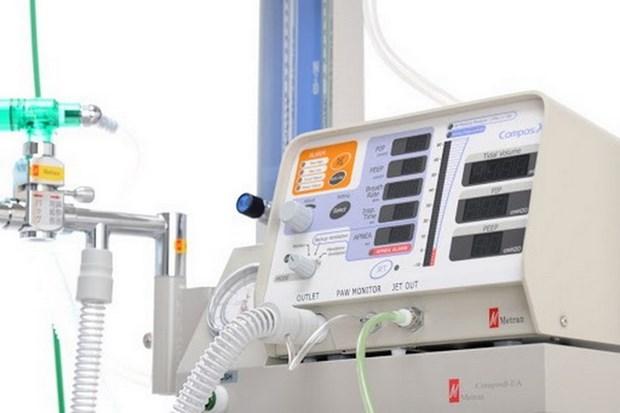 万盛发集团为越南应对新冠肺炎疫情赠送2000台呼吸机 hinh anh 1