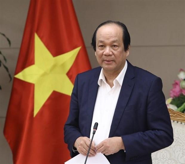梅进勇部长:全社会隔离不意味着全国封锁 hinh anh 1