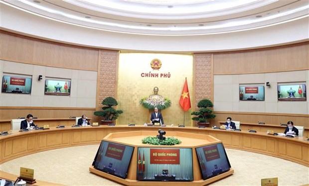 阮春福总理:政府努力保障贫困人口尤其是失业人员的生计问题 hinh anh 2