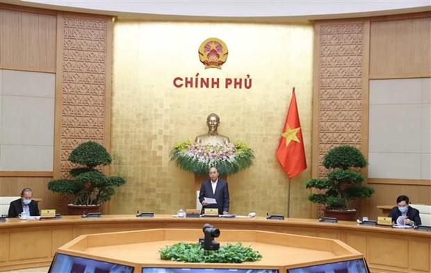 阮春福总理:政府努力保障贫困人口尤其是失业人员的生计问题 hinh anh 1