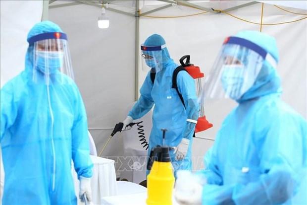 越南新增5例新冠肺炎确诊病例 新冠肺炎确诊病例累计达212例 hinh anh 1