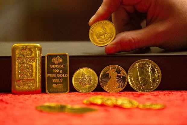 越南国内黄金价格上涨20万越盾 hinh anh 1