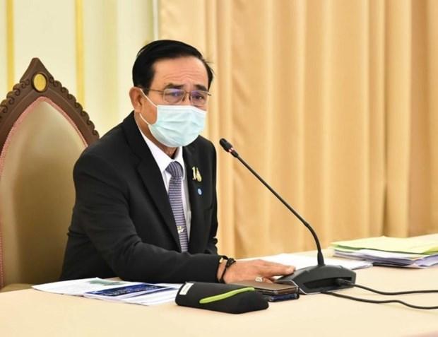 泰国巴育总理宣布4月3日实行全国宵禁 hinh anh 1