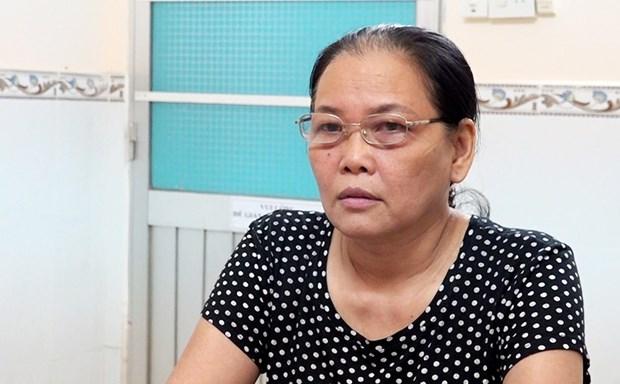 安江省一名女子因涉嫌颠覆人民政权罪获起诉 hinh anh 1