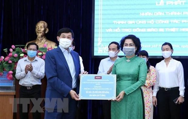 海外越南侨胞心系祖国情系家乡 捐赠物资抗击疫情 hinh anh 1