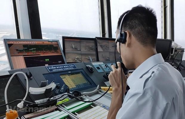 新冠肺炎疫情:越南飞行管理总公司启动三级疫情应急预案 hinh anh 1