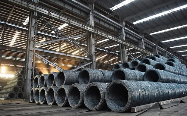 3月份和发钢铁产量创单月产量历史新高 hinh anh 1