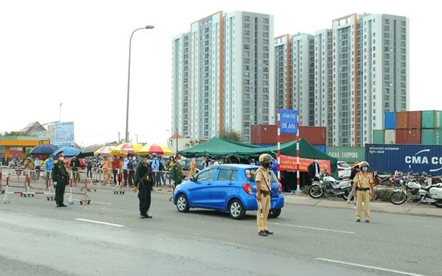 胡志明市采取强有力措施来防控疫情 对机场和火车站所有旅客进行采样检测 hinh anh 2