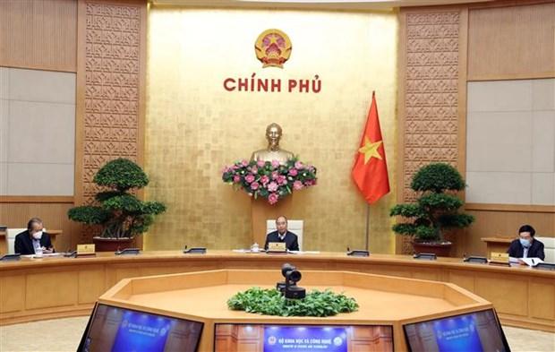 越南政府总理阮春福:为应对第二轮的新冠肺炎疫情做好准备 hinh anh 1