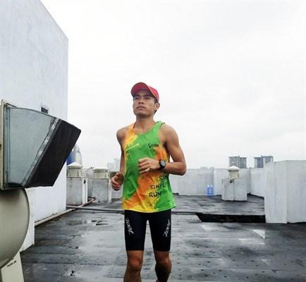 新冠肺炎疫情:响应政府总理第16号指示举行线上跑步比赛 hinh anh 1