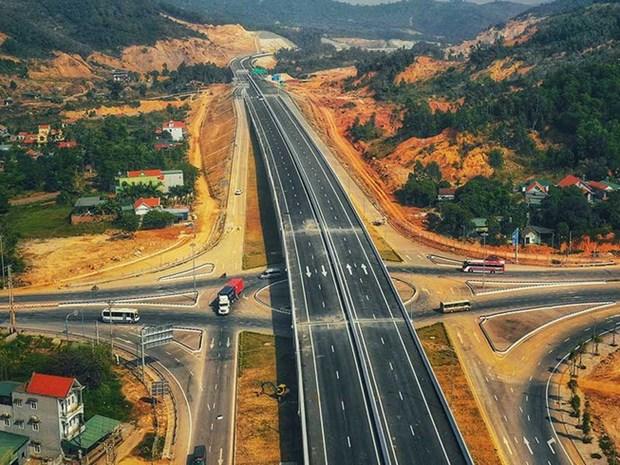 越南南北高速公路沿线已完成征地拆迁450多公里 hinh anh 1