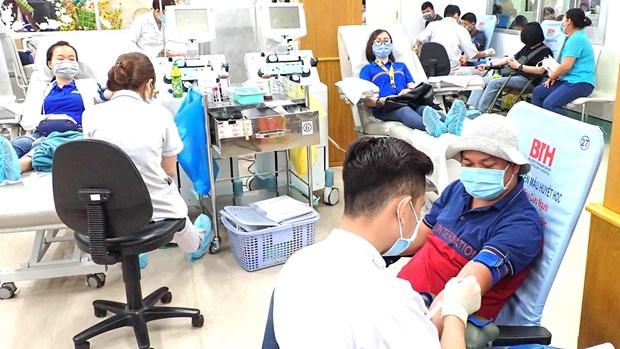 全民无偿献血日20周年:致力建设一个健康且颇具人道主义的社会 hinh anh 1