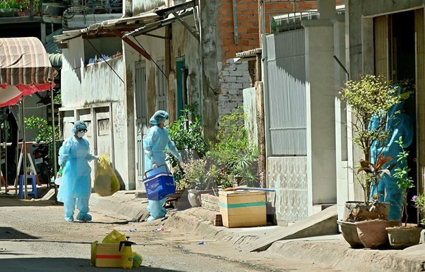 越南新增4例新冠肺炎确诊病例累计确诊病例249例 hinh anh 1