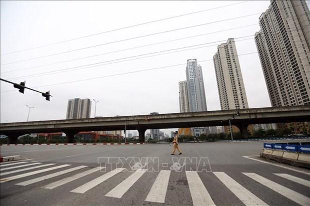 河内市空气质量总体呈改善态势 hinh anh 1