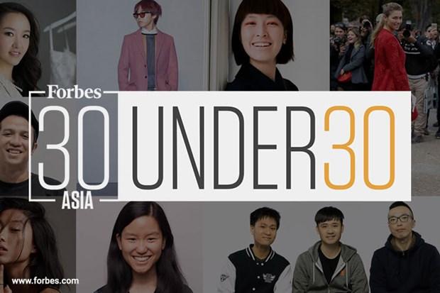 越南3名企业家荣登《福布斯》发布的2020年《亚洲30 位30 岁以下精英榜》 hinh anh 1