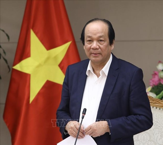 梅进勇部长:根据实际情况决定是否继续实施保持社会距离措施 hinh anh 1