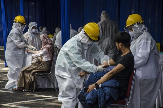 新冠肺炎疫情:印尼单日新增247例新冠肺炎确诊病例 hinh anh 1