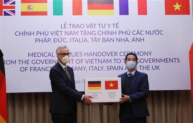 德国媒体对越南为欧洲各国提供的协助给予高度评价 hinh anh 1